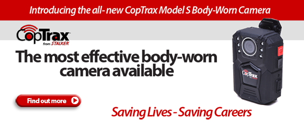 Introducing the new CopTrax Model S Body-Worn Camera