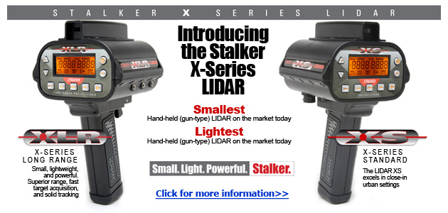 Introducing the all new Stalker X-Series LIDAR