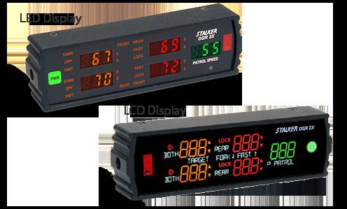 Stalker Radar DSR 2X display