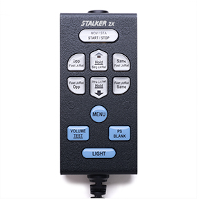 Stalker Radar motorcycle Remote Control for 2X - Bottom Exit