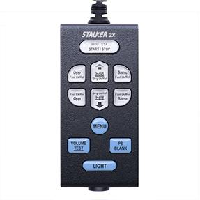 Stalker Radar Remote Control for 2X - Top Exit