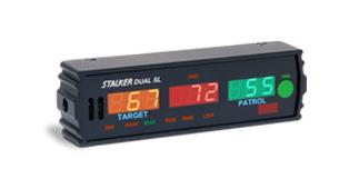 Stalker Radar DUAL SL display