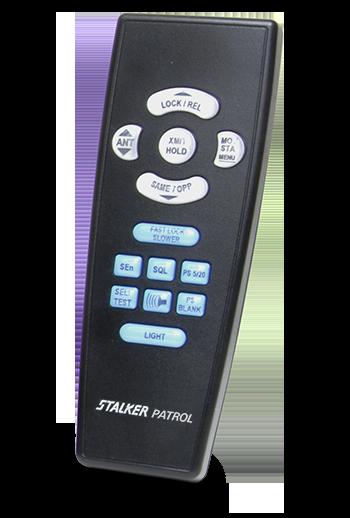 Stalker Radar Patrol Infrared remote